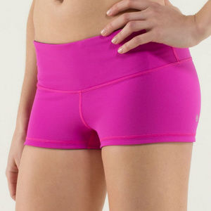 Lululemon Boogie Shorts Reversible Pink Black